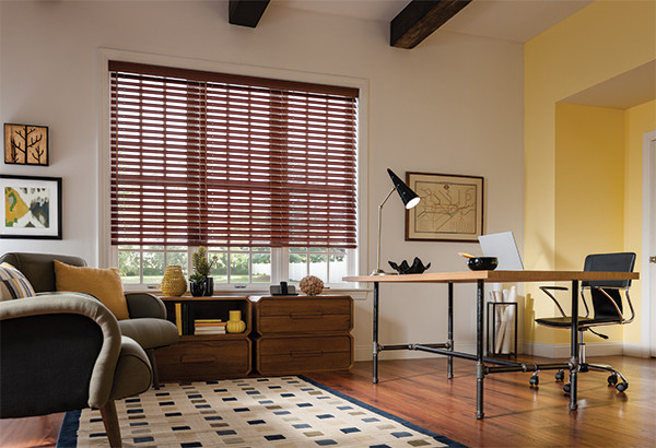 Faux Wood Blinds Graber Faux Wood Blinds Home Office Design Modern Home Office Library
