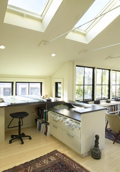 Feldman Architecture contemporary home office