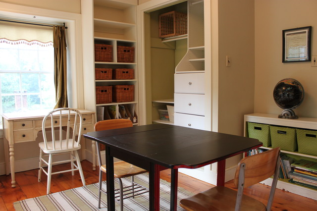 traditional home office by Amy Renea