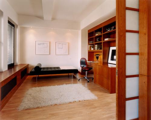 mies van der rohe divan barcelona en negro oficina diariodesign