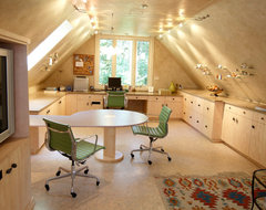 Flawless Composure contemporary-home-office