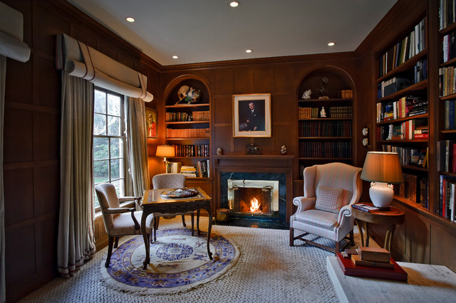 Forrestview Estate traditional-home-office