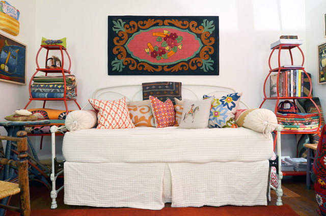 Fort Worth, TX: Mike & Ann Williams eclectic-home-office