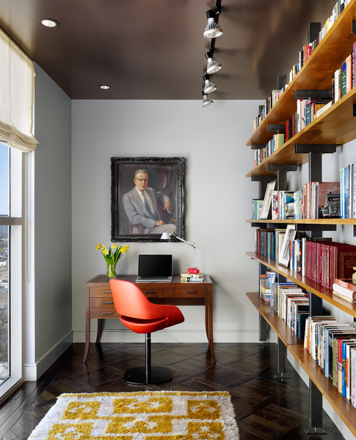 Four Seasons Penthouse contemporary-home-office