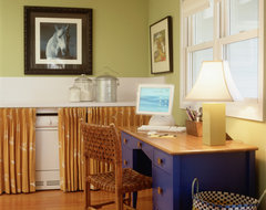 Fox Hollow eclectic home office