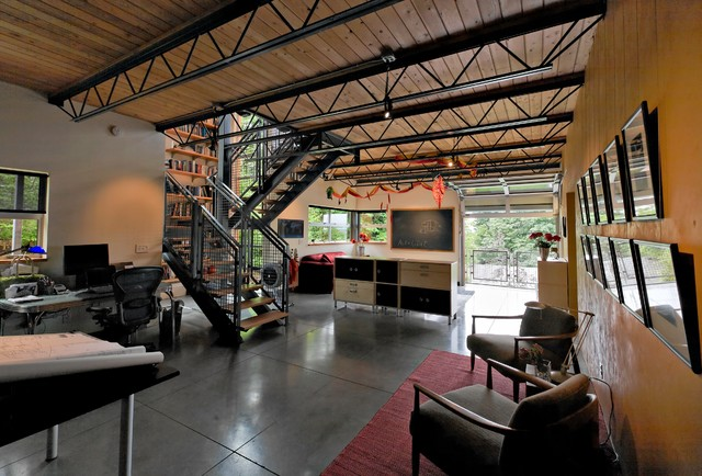 Fremont Live Work Industrial Home Office Seattle By Kevin