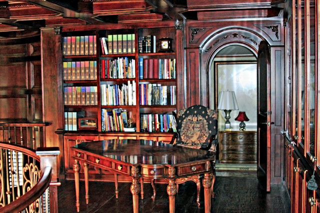 FRENCH CHATEAU traditional-home-office