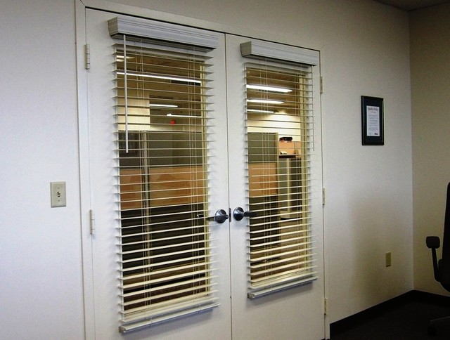 Office Door Blinds For