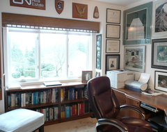 Frenchflair eclectic home office