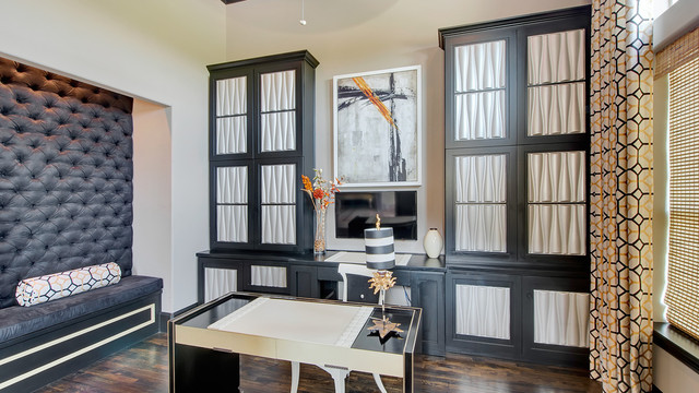 Frisco European - Transitional - Home Office - Dallas - by Hensley ...