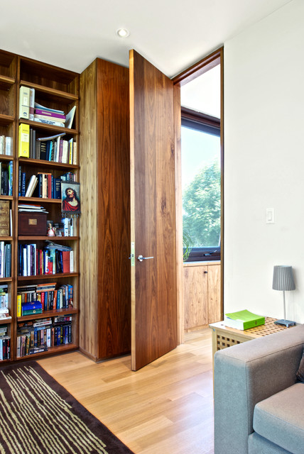 Full Height Door Details Modern Home Office Toronto