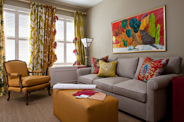 funky second bedroomhome office sleeper view contemporary home office bedroom home office view