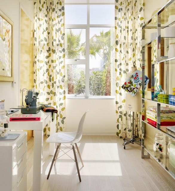 Sewing Room Design Ideas Part - 34: Gallery Loft Scandinavian-home-office