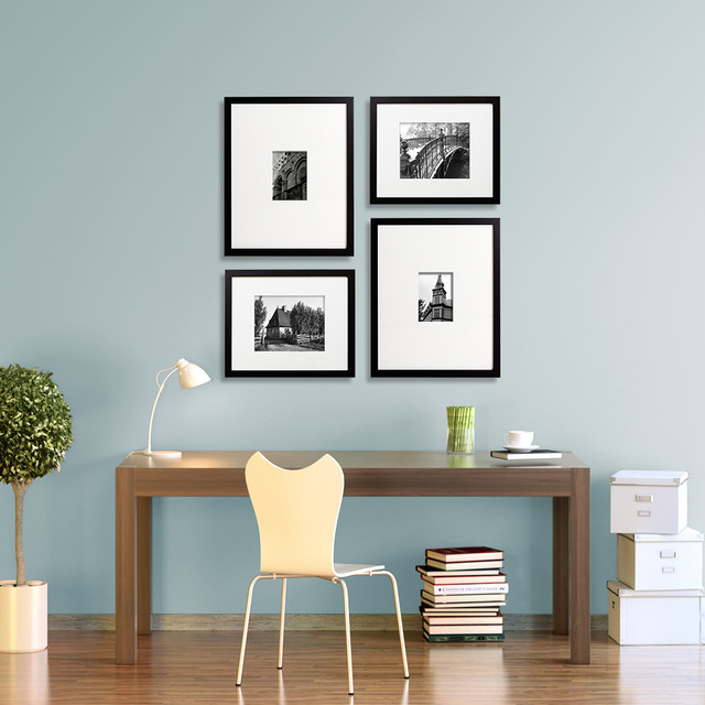 Swell Gallery Wall Ideas Modern Home Office Chicago By Change Of Largest Home Design Picture Inspirations Pitcheantrous