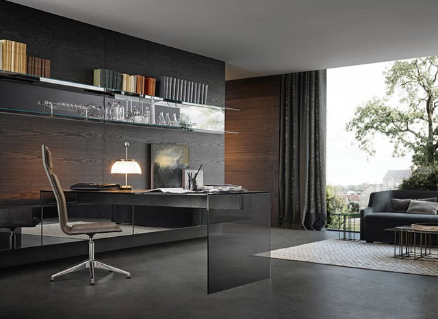 Gallotti Radice Contemporary Minimal Italian Furniture Contemporary Home Office Library