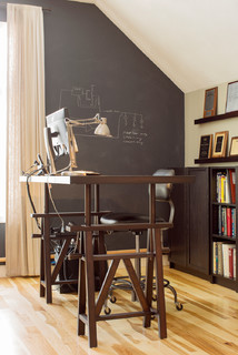 Game Room Makeover - Contemporary - Home Office - Boston - by Hammond Design