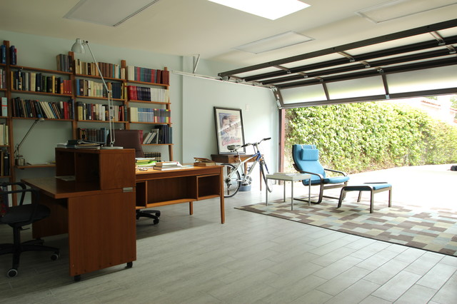 Garage Conversion contemporary-home-office