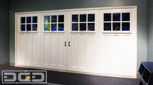 Garage Door to Carriage Door Conversion Project for a Garage Turned Playroom traditional-home- & Garage Door to Carriage Door Conversion Project for a Garage Turned ...