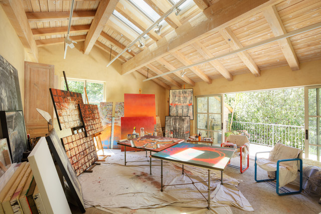 Eclectic Home Office By Dave Adams Photography