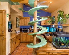 Garden Oasis Cat Walk Fun eclectic home office