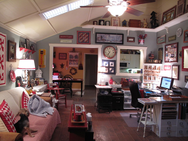 garden room eclectic-home-office