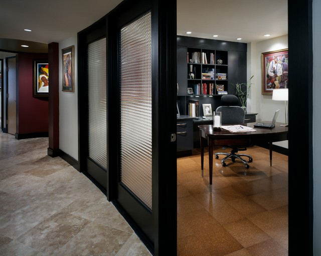 Gateway Contemporary Contemporary Home Office Library Other By Archetype Design Studio