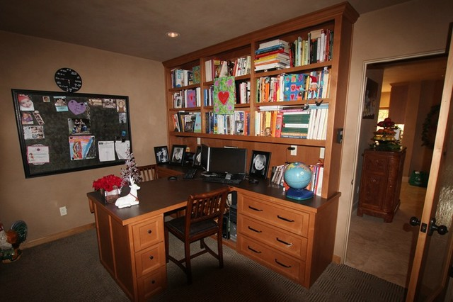 Gemperle Residence traditional-home-office