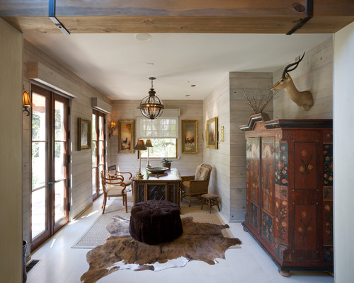 Excellent Ethnic Cottage Decor: On Antler Chandeliers, Turtle Shells & Taxidermy AZ37
