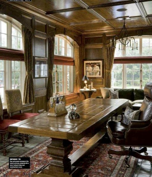 Georgian Historic Residence traditional-home-office