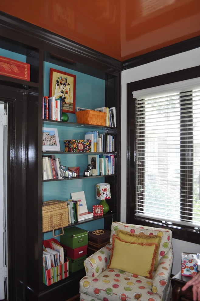 Home office - eclectic home office idea in Other