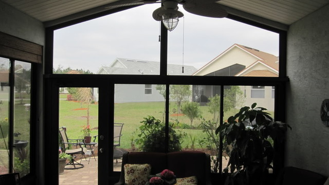 Glass Lanai Enclosures - Tropical - Home Office - other metro - by Tropical Enclosures