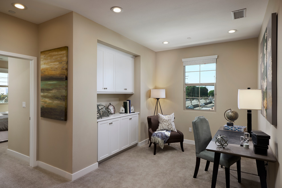 Glendora Collection Transitional Home Office Los Angeles By Edith Ruano