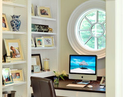 Graceful Gambrel traditional home office