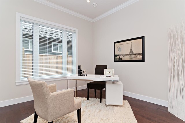 Granville Street traditional-home-office