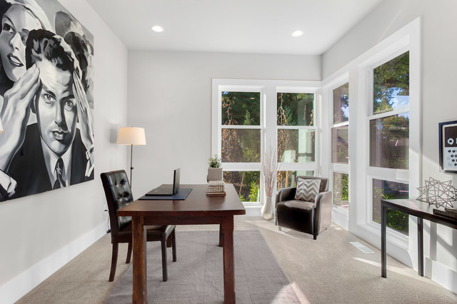 Greater Seattle Area The Bordeaux Home Office Contemporary