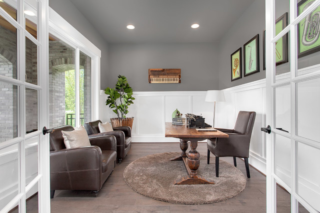 Greater seattle area the mozart den transitional for Seattle area home builders