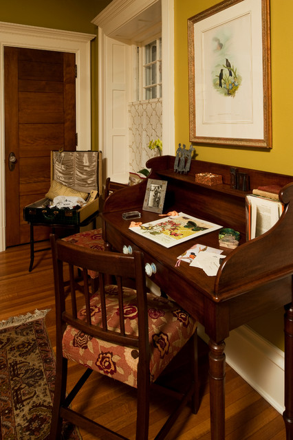 Green Bedroom Chadds Ford Pa Traditional Home Office Philadelphia By Steven Paul