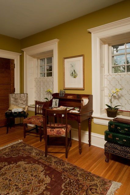 Green Bedroom - Chadds Ford, PA traditional-home-office
