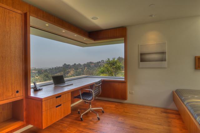 Green Oak Writers Studio Modern Home Office