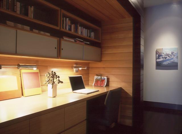 Greene Street Loft contemporary-home-office