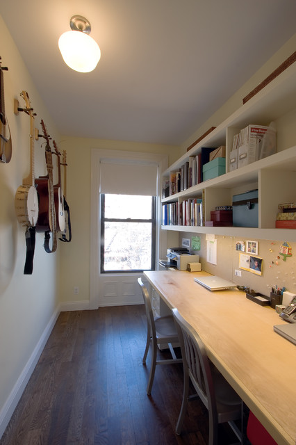 Greenwood Heights Townhouse modern-home-office