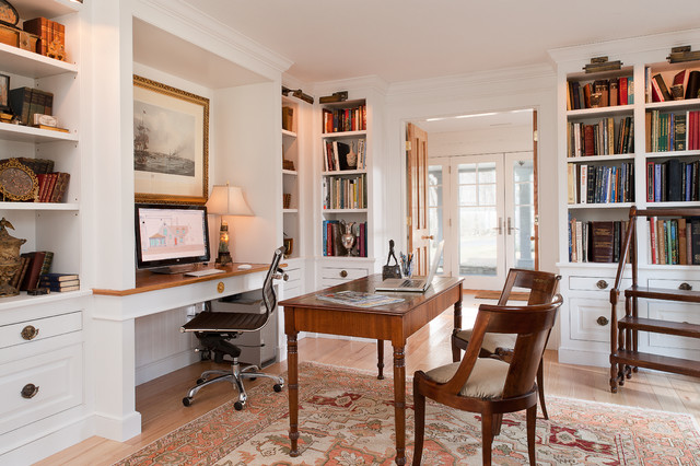 Grey Croft - Traditional - Home Office - New York - by ...