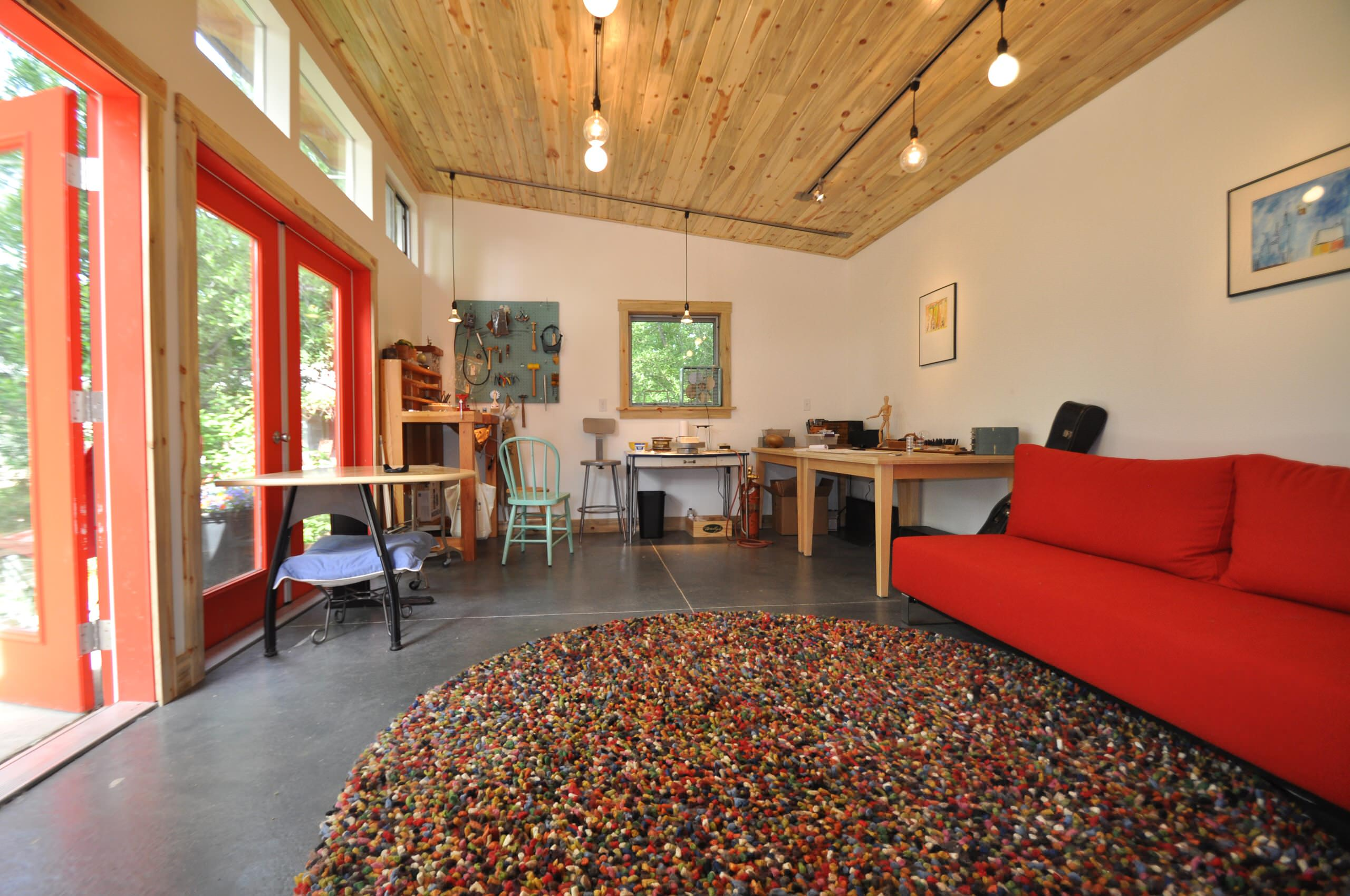 Shed Ceiling Houzz