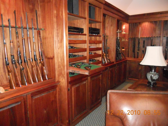 Gun room mobile al for Home gun room