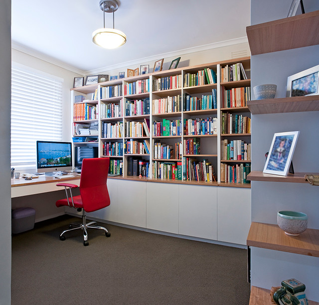 Hamilton Residence Contemporary Home Office Melbourne By Designs Australia