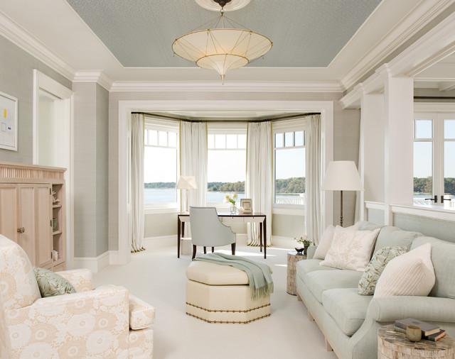 Hamptons, NY II Beach Style Home Office