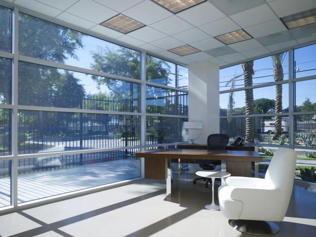 Hangar 25 contemporary-home-office