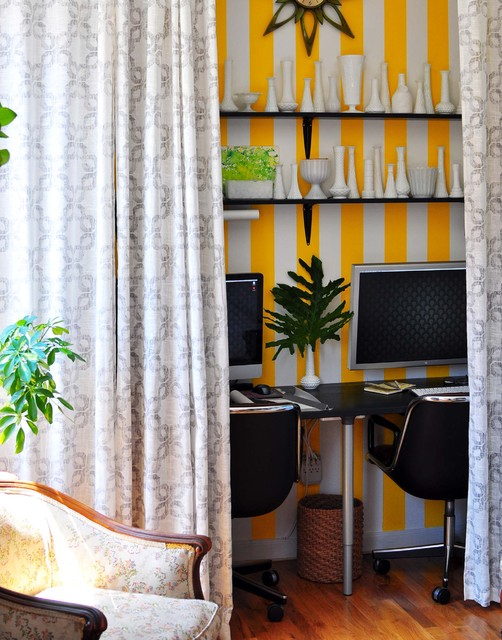 Harlem Apartment - Home Office eclectic-home-office