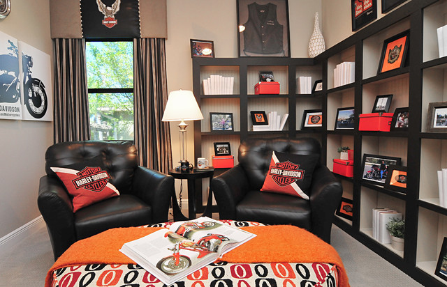 Harley Davidson Room  Eclectic  Home Office  orlando