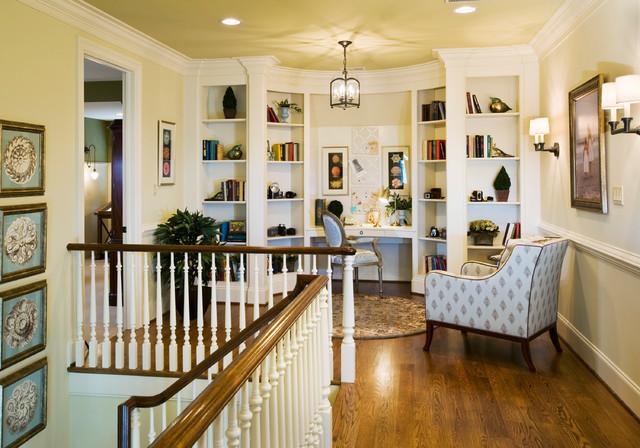 Inspiration For A Timeless Built In Desk Home Office Remodel In Philadelphia